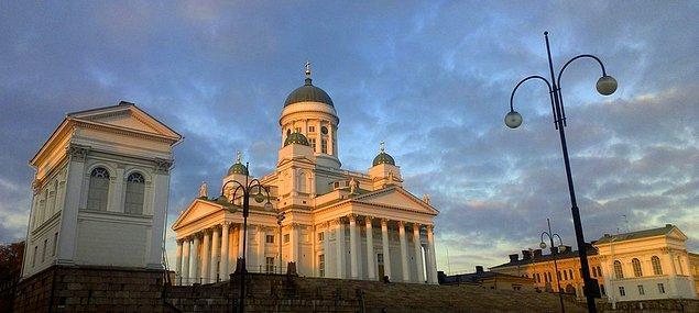 25. Çünkü Helsinki dünyanın en görkemli başkentlerinden