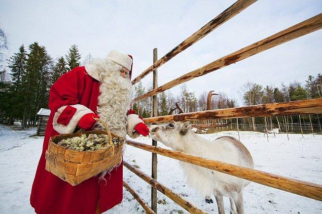31. Çünkü Noel Baba burada yaşıyor.