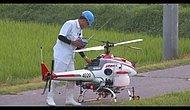RC Helikopterle Tarla İlaçlamak