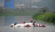 Tayvan'da Transasia'ya Ait Yolcu Uçağı Düştü 19 Ölü