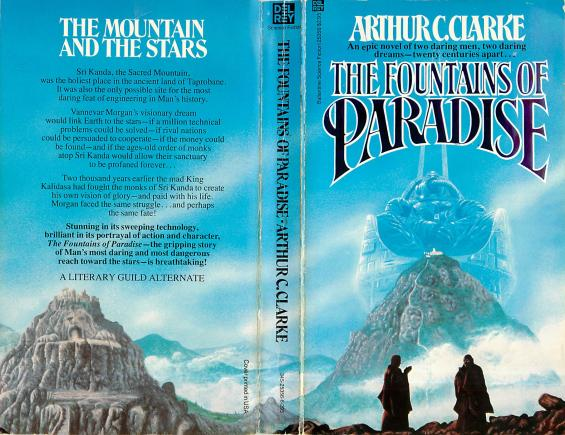 a literary analysis of foundations of paradise by arthur c clarke Examples include arthur c clarke's 2001: a space odyssey, robert heinlein's stranger in a strange land, isaac asimov's foundation, octavia butler's dawn, h g wells' the invisible man, ursula leguin's the left hand of darkness, lois mcmaster bujold's ethan of athos, aldous huxley's brave new world, ray bradbury's the martian chronicles, neal.