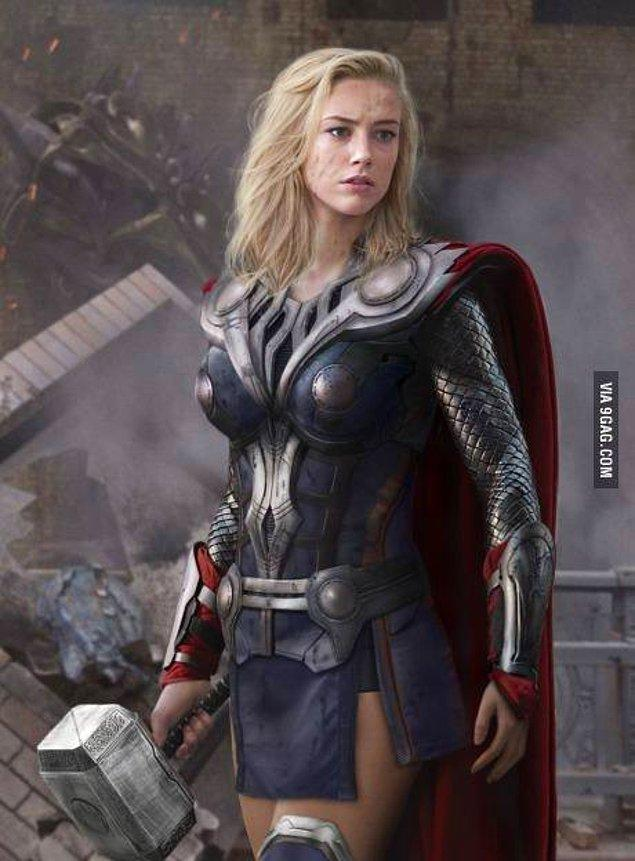 9. Female Thor