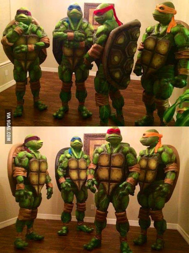13. Ninja Kaplumbağalar