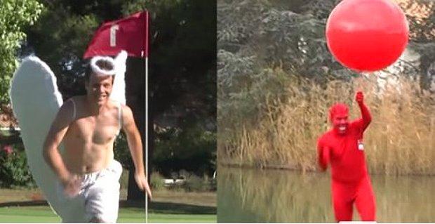 Bir Golf Oyununa Şeytan ve Melek Girerse Ne Olur?