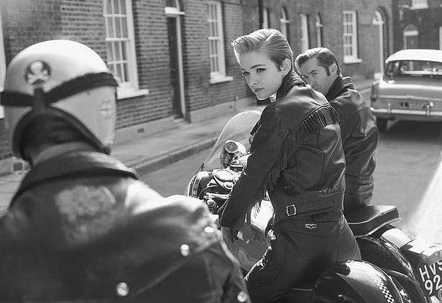 40. Deri ceketli İngiliz rocker.