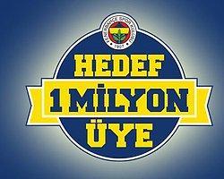 1 Milyon Üye Projesi Fenerbahçe'nin Kasasını Doldurdu