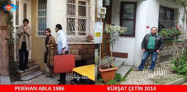 11. Perihan Abla'yı illa ki izlemişsinizdir 80'lerde çocukluk yaşadıysanız. Evi hala aynı. Yer: KUZGUNCUK