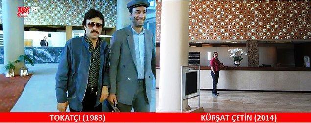 13. Kara Erol, Karbonat Erol olur ve Çınar Otel'de bir vurgun daha yer. Resepsiyon aynı. Yer: Yeşilköy