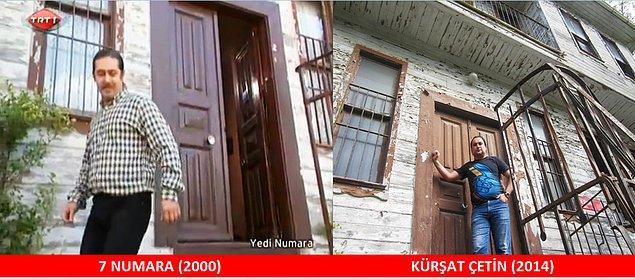 15. Kapılar pencereler de aynı duruyor. Yer: Kandilli