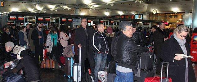 6 bin 500 yolcu otele yerleştirildi