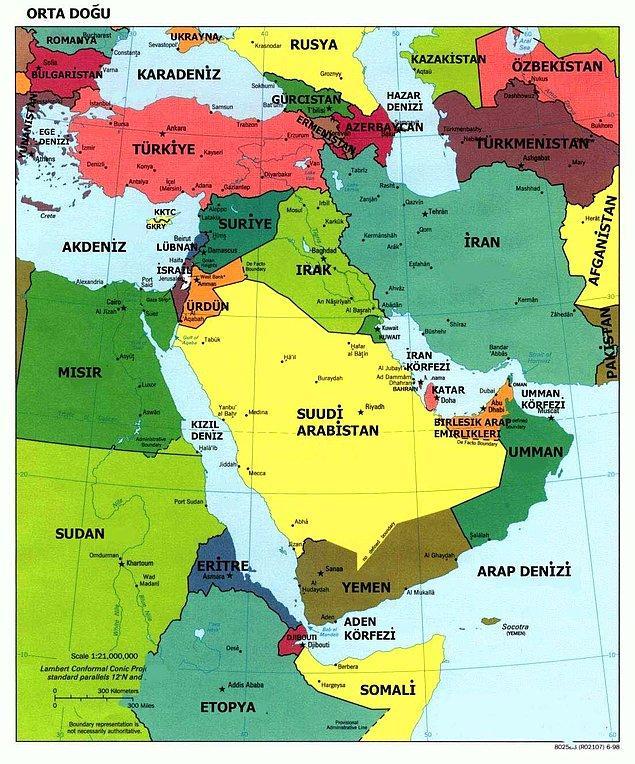 """6. """"Türkler Avrupalı değildir, Orta Doğulu'dur."""""""