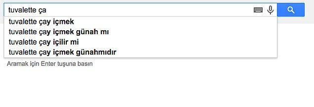 16. Fantezilerinizin günahını google çekiyor!
