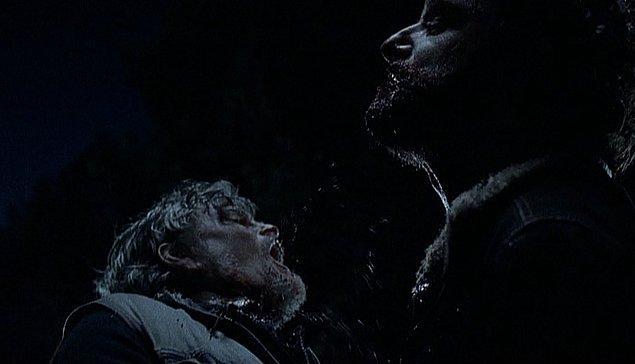 15. Rick, Joe'nun boğazını kopardığı an
