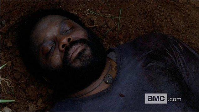 23. Tyreese ısırıldığı ve öldüğü an