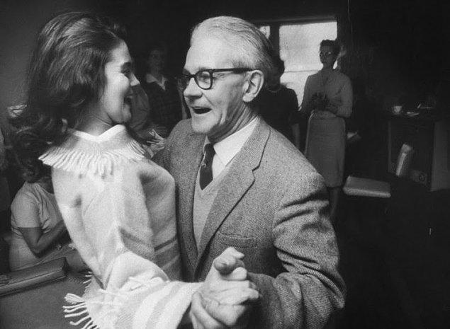 6- Gustav Olsson ve kızı Ann-Margret , 1961.