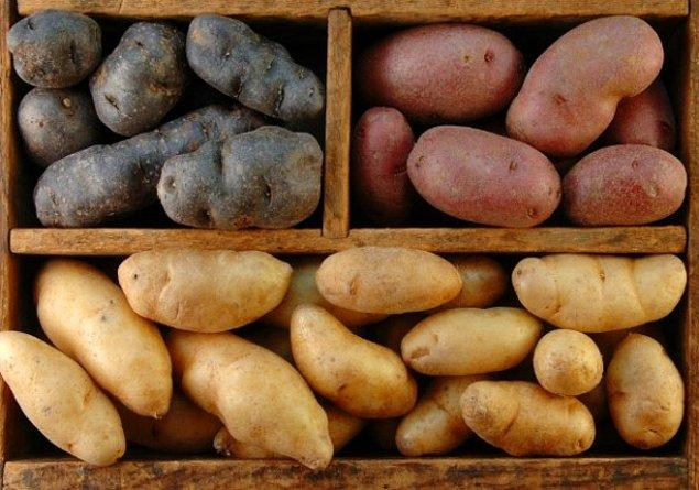 9. Tok tutmasıyla diyetlerde sıkça kendine yer bulan patates bize sağlıklı yaşamın güzelliğini anlatır.