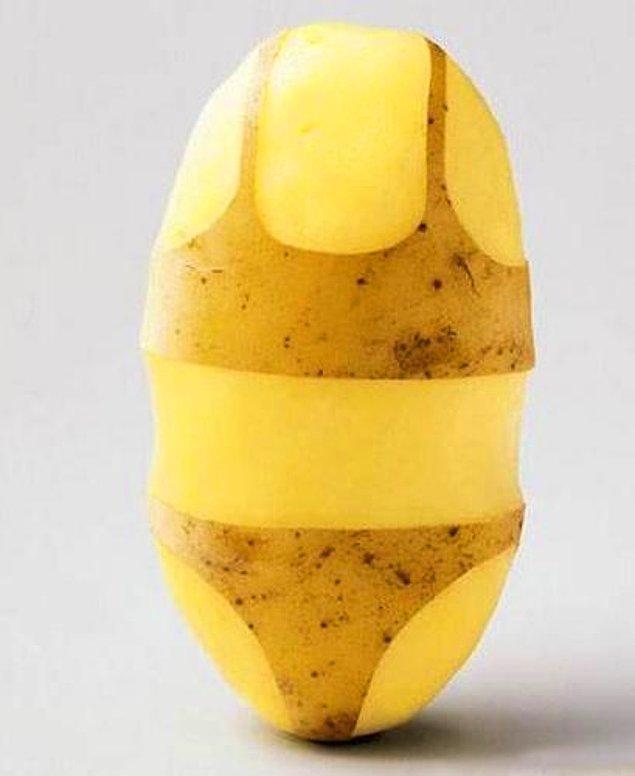 """10. Dandik, uyduruk, baştan savma veya tombul, şişko anlamlarında da kullanılmasıyla bize """"ying yang"""" felsefesini hatırlatır patates."""