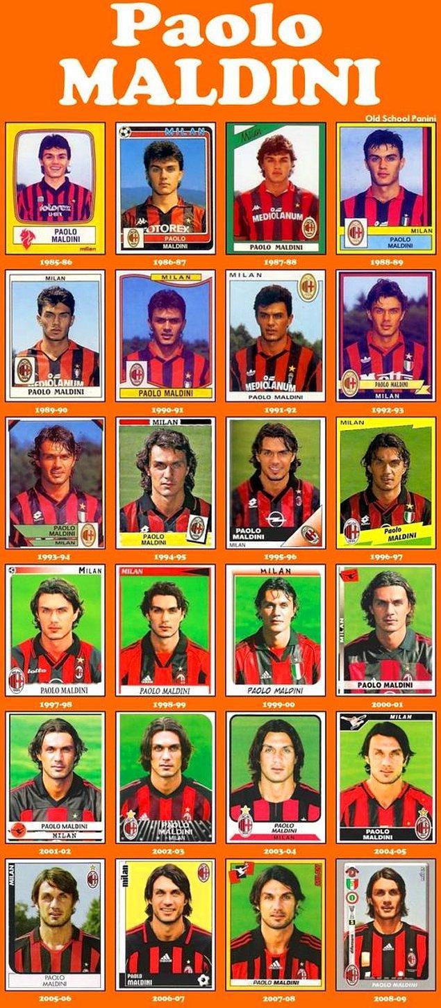 14. Defansta bir marka: Paolo Maldini