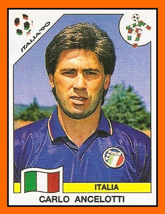 19. Futbolculuk döneminden Carlo Ancelotti