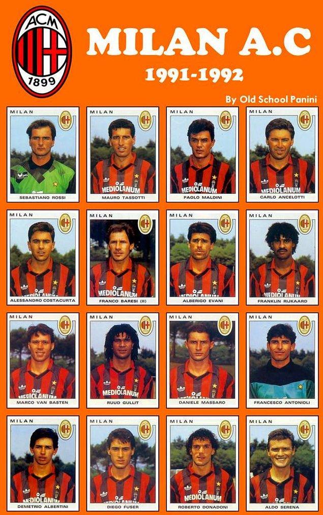 21. Hey gidi hey, bir zamanların efsane Milan'ı