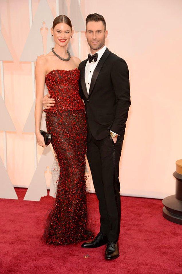 Adam Levine ve eşi Behati Prinsloo