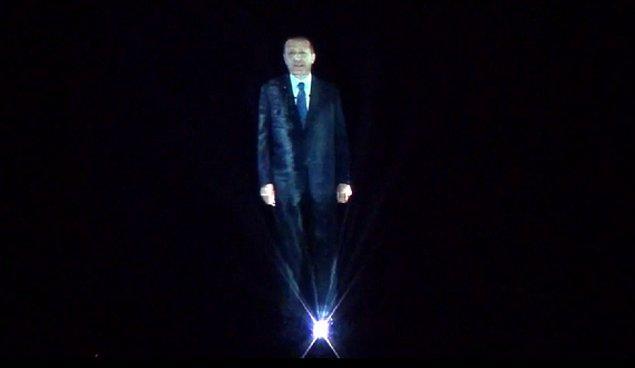En İyi Görsel Efekt: Hologram Tayyip