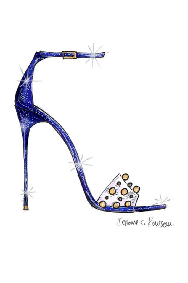 6. Jerome C. Rousseau, bu hayali yazlık bir sandal şekline sokuyor.