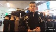 Eskişehir'deki çorap satan çocuk
