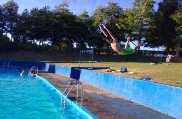 """13. """"Olm havuz ordan başlamıyor!!"""" """"BU ŞİMDİ Mİ SÖYLENİİİĞĞRR!!"""""""
