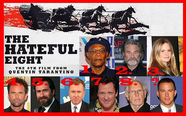 6- Usta yönetmen Quentin Tarantino'nun yeni bombası 'The Hateful Eight'