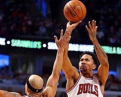 Chicago Bulls'lu Derrick Rose Sakatlandı