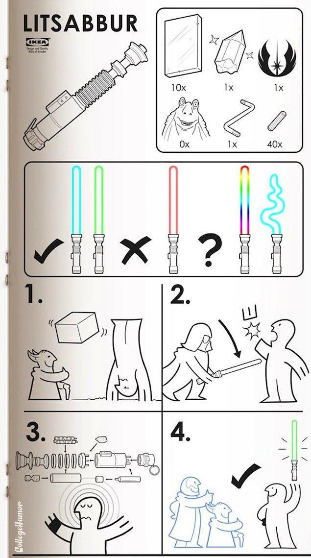 5. Lightsaber 🔫
