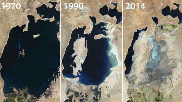 Aral Denizi: Öncesi ve sonrası