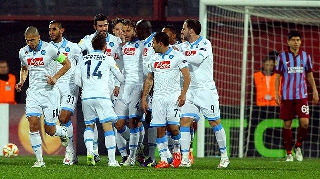 BİLGİ | Trabzonspor, İtalyan takımlarıyla oynadığı son dört maçta gol atamadı ve toplam sekiz gol yedi.