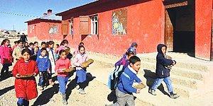 Ağrı'dan Bir Fotoğraf: 'Tezekli' Eğitim
