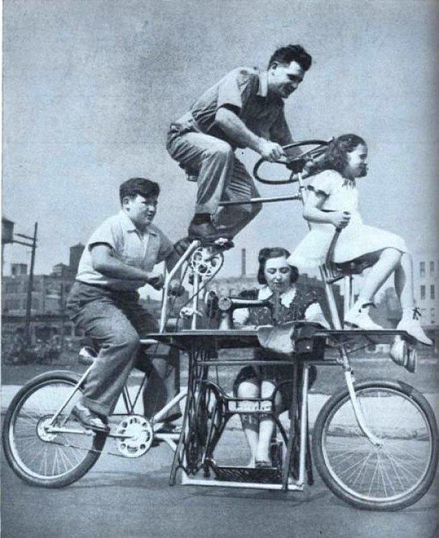 5. Aile bisikleti !