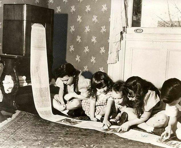 6. Haberleri takip etmek için yapılmış bir faks makinesi