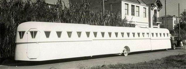8. Oldukça uzun bir karavan