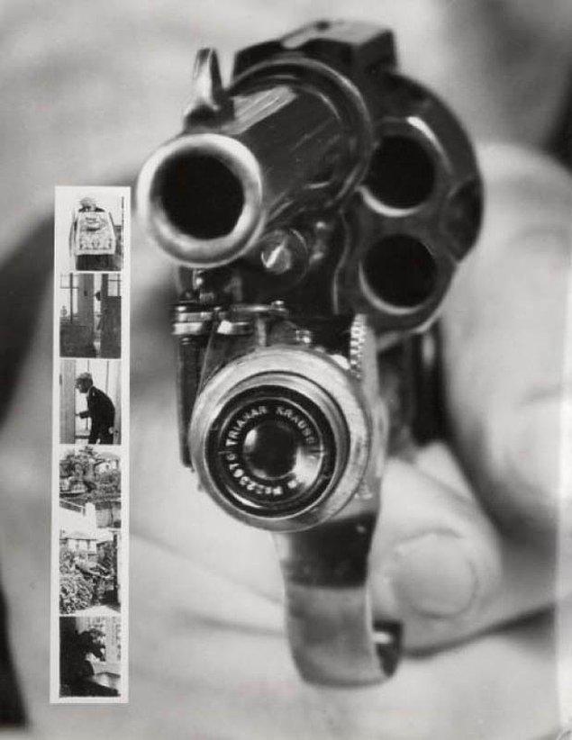 9. Kameralı tabanca !?