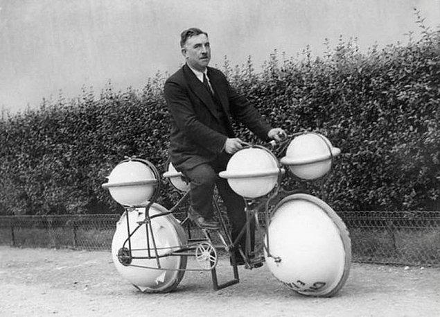 10. Amfibik bisiklet