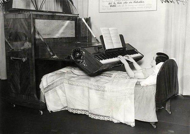 15. Yatalak hastalar için piyano