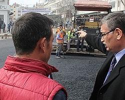 Şanlıurfa Büyükşehir Belediye Başkanı Celalettin Güvenç tarihi bölge esnafını ziyaret etti.