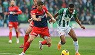 Nefes Kesen Maçta 3 Puan Bursaspor'un