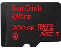 SanDisk Dünyanın En Yüksek Kapasiteli microSD Kartını Tanıttı