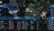 Dünya üzerindeki siber saldırıları online takip edin