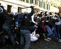 Feyenoord Taraftarları Roma'yı Yaktı Zarar 5,2 Milyon Euro