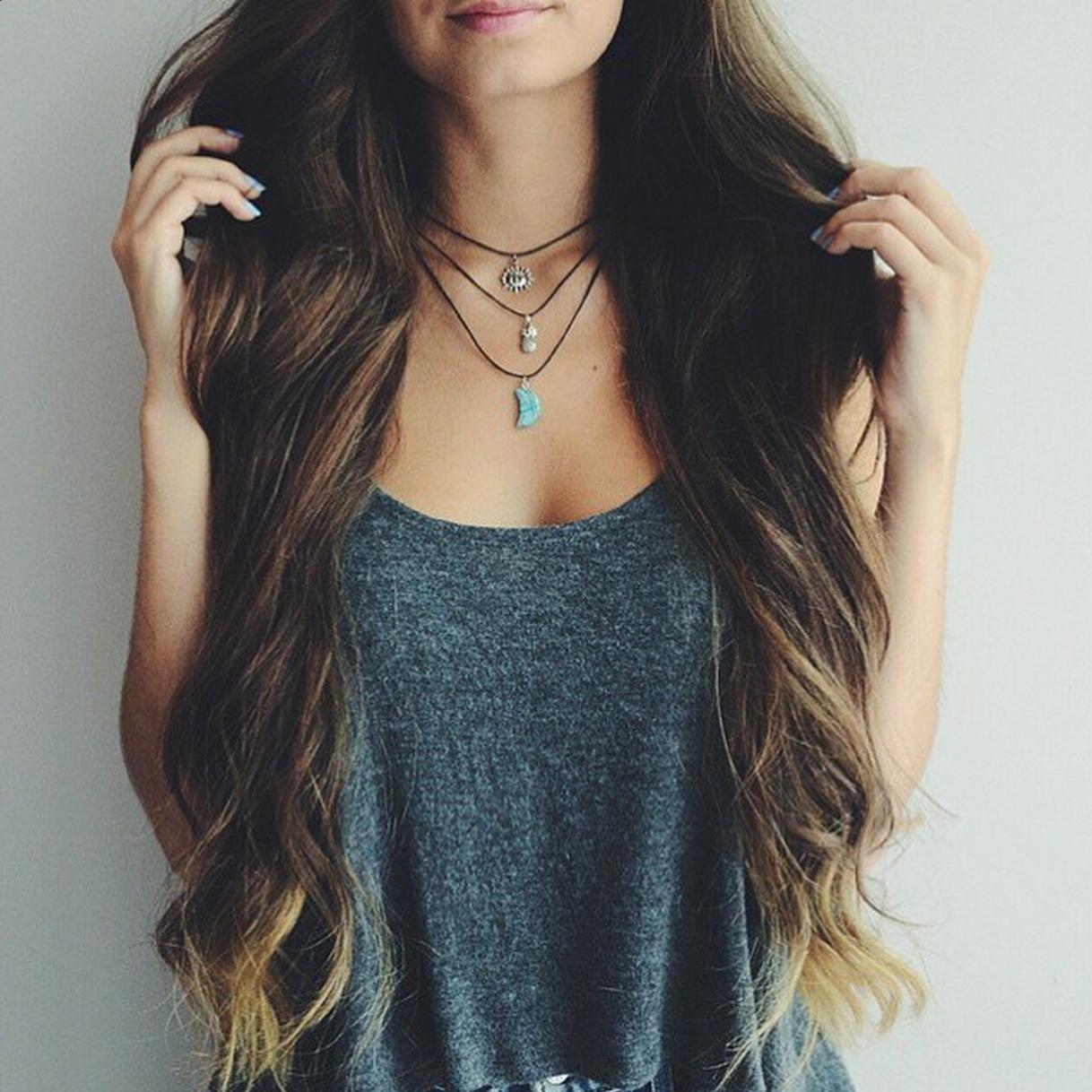 Фото красивых девушек с длинными волосами 11 фотография
