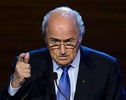 """Blatter: """"İran'da Kadınlar Statlara Alınsın"""""""