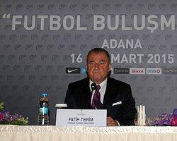 """Fatih Terim'le """"Futbol Buluşmaları"""" Adana'da Başladı"""