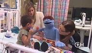Çocuk Hastanesinde 'Shake It Off' Şarkısını Söyleyip Dans Etmek